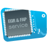 EGR & FAP Service badge B